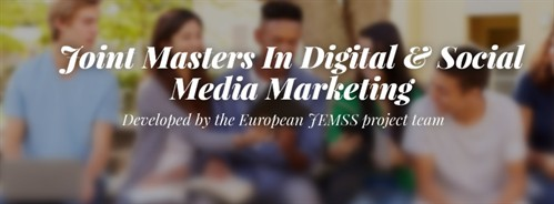 Masters In Digital And Social Media Marketing